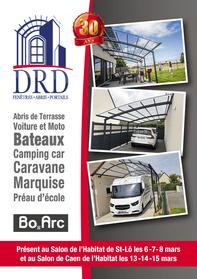 DRD prospectus campagne de communication Ouest-France