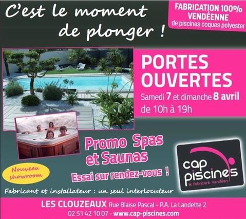 Cap Piscines sur Les Clouzaux, un Display Precom Habitat