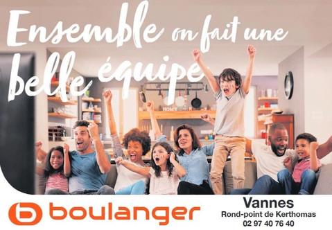 Boulanger à Vannes, une Publicité Print Precom Habitat