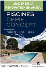 Piscines Cepie à Saint-Sylvain-d'Anjou, un Display Precom Habitat