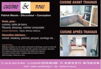 Cuisine et vous à Hillion, une Publicité Print Precom Habitat