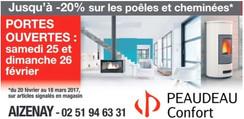 Peaudeau Confort à Aizenay, une Publicité Print Precom Habitat