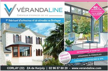 VérandaLine à Corlay, une Publicité Print Precom Habitat