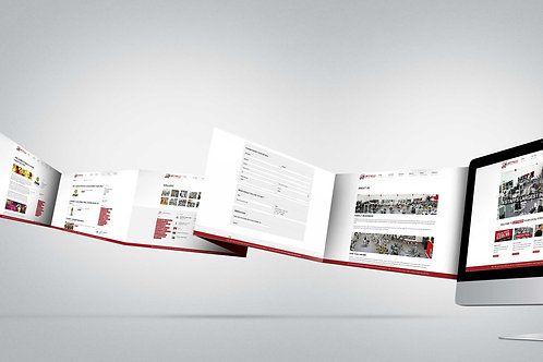 Дизайн дополнительных страниц