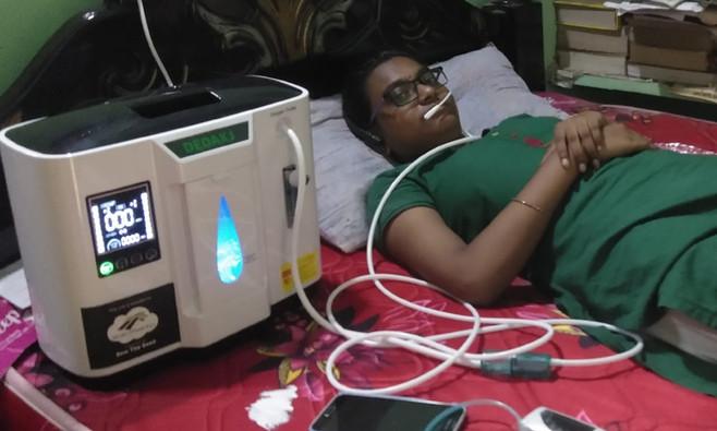 WorldHarvest Oxygen Campaign - India