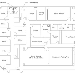 VegasFocus Office Layout