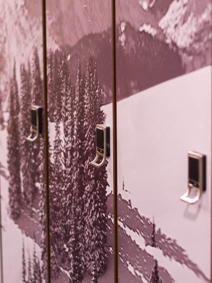 Club One Ski Lockers