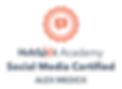 Hubspot Social Media Certification - Alex Medick - The New Standard