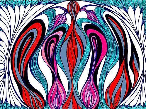 Lisérgico - Artista Visual Ivana Cassuli