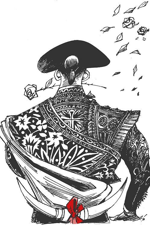 Toureiro Elegante - Cartunista  Miran