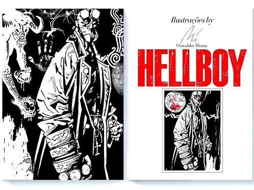Álbum Hellboy - Cartunista Miran