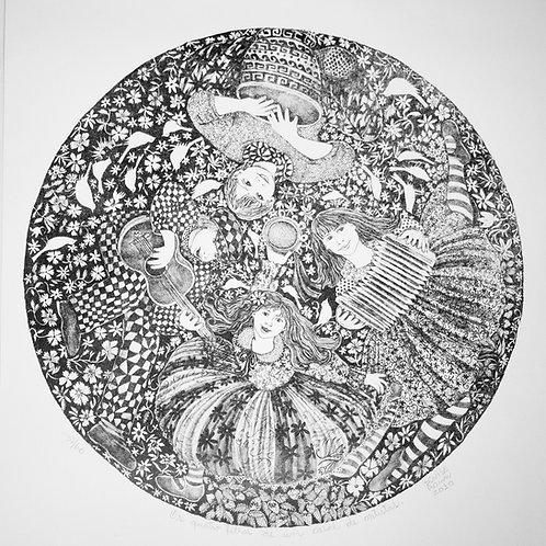 Os Quatro Filhos de um Casal de Artistas - Artista Plástico Denise Roman