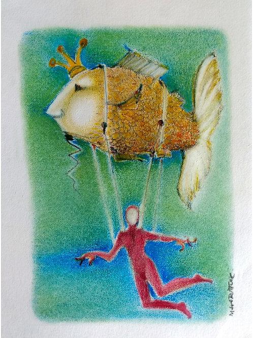 Desenho 1 - Artista Paulinho Maia