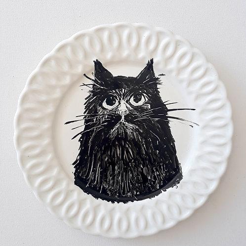Pratos de gatos - Ilustrador Nilson Sampaio