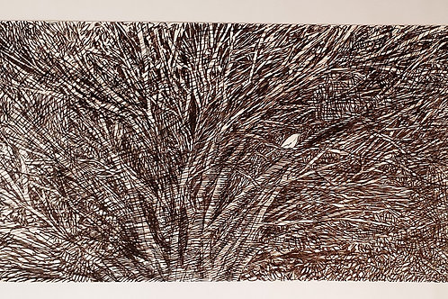 Pássaro Solitário - Artista Plástico Denise Roman