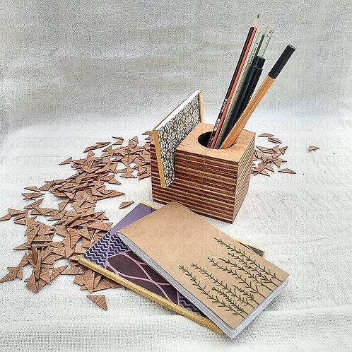 Porta Lápis Mirabel - Design Infinito Possibilidades