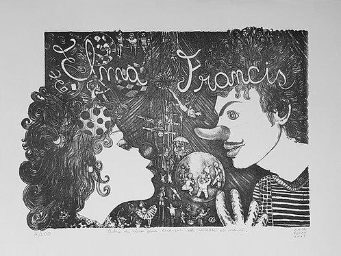 Elma e Francis - Artista Plástica Denise Roman