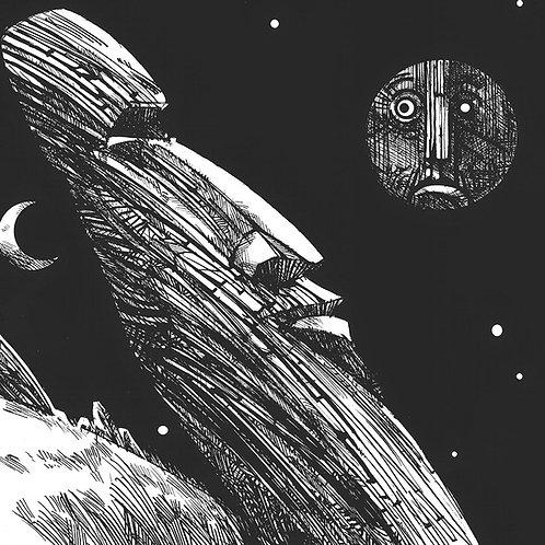 Lua Invejosa - Cartunista  Miran