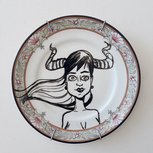 Mulher - Ilustrador Nilson Sampaio