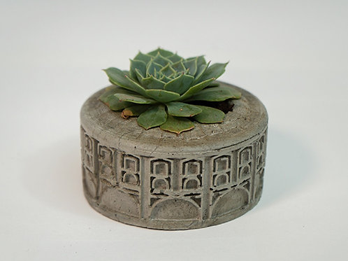 Mini vaso para suculentas Petit Opera - Design Diego Bachmann
