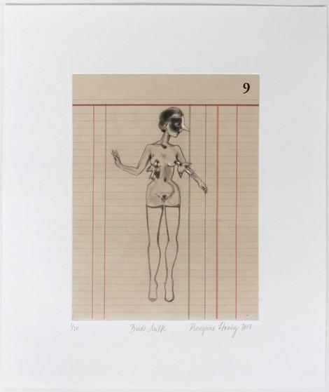 Mascaras de Madres Intaglio etching 12 x 14 ea. $ 6,065 (set)