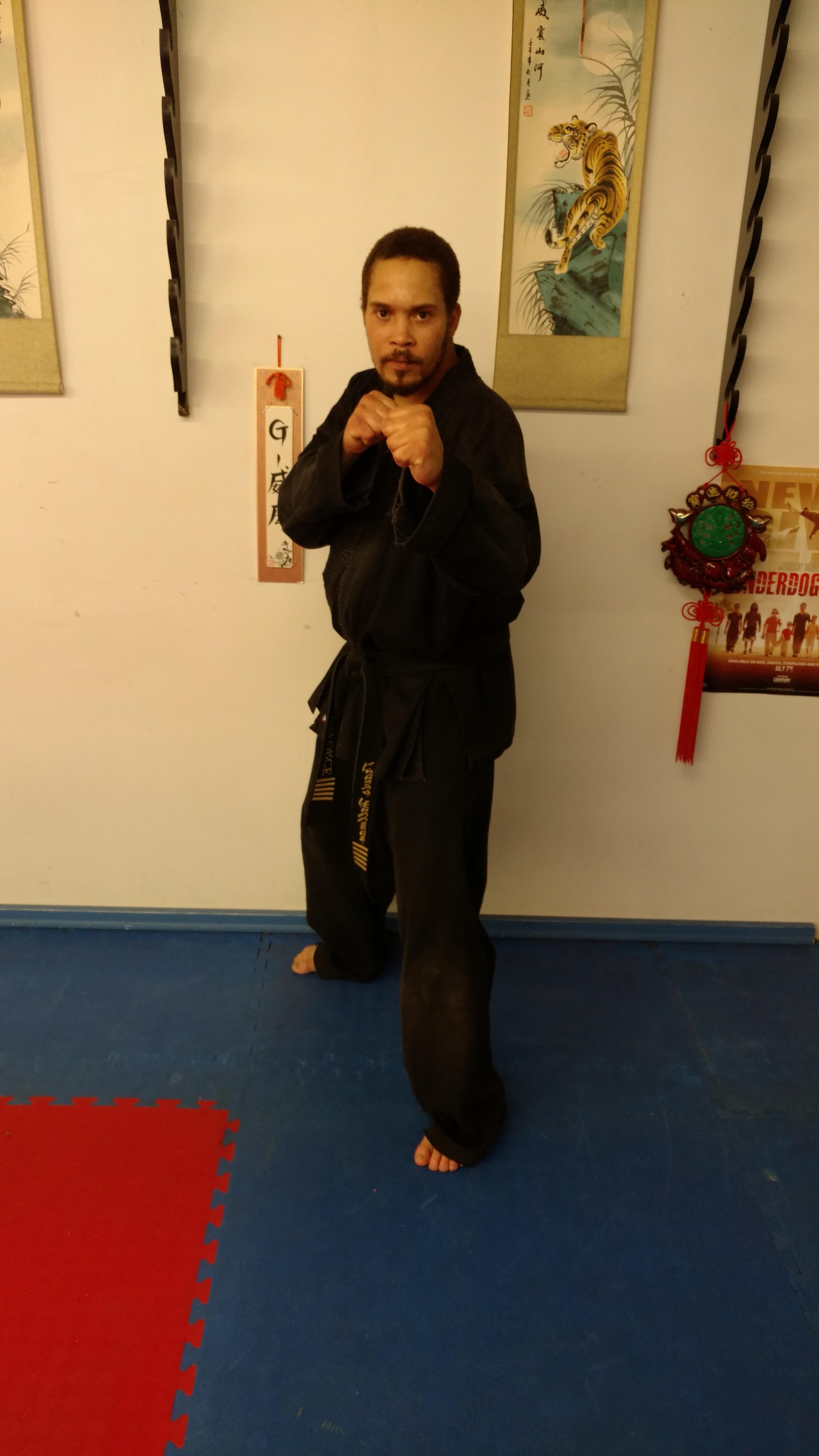 Master Travis Hallman