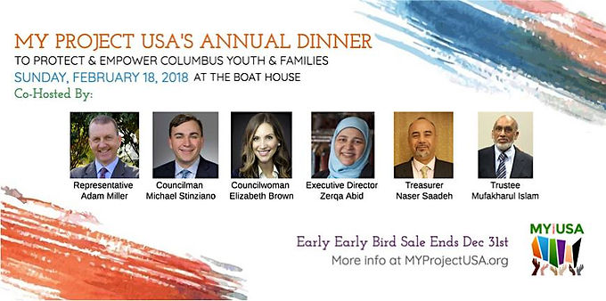 A Benefit Dinner To Protect & Empower Columbus Youth & Parents