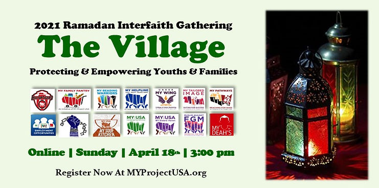 Ramadan 2021 Interfaith Event FB Banner.