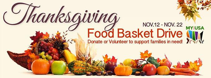 MY Thanksgiving Food Basket Drive