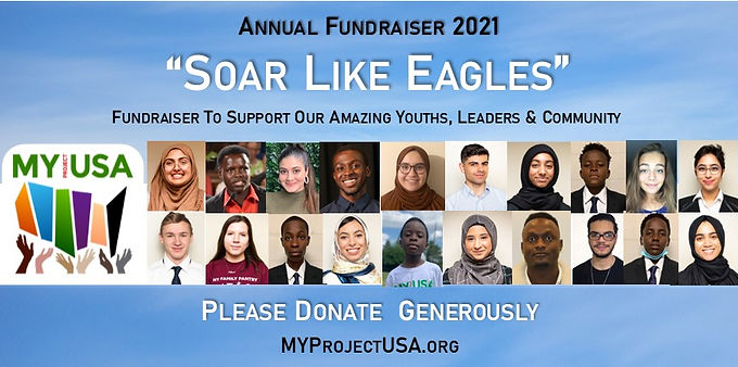 Soar Like Eagles - MY Project USA Annual Banquet & Awards 2021