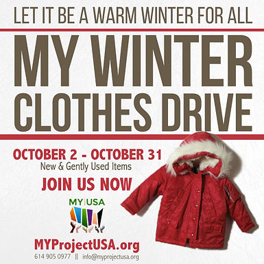 MY Winter Clothes Drive