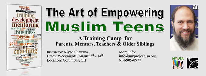 The Art of Empowering Muslim Teens