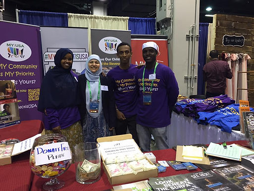 MY Project USA'S Booth At The ISNA Convention 2017