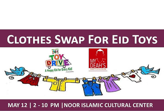 Clothes Swap for Eid Toys