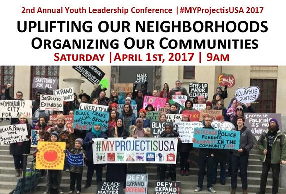 2nd Annual Youth Conference: UPLIFTING OUR NEIGHBORHOODS - Organizing Our Communities