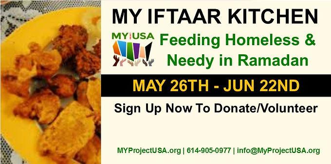 MY Iftaar Kitchen 2017: Feeding Homeless & Needy in Ramadan