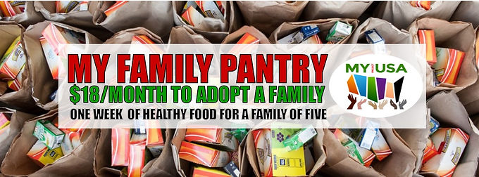 Thanks is Giving - MY Family Pantry Kickoff