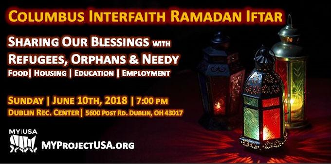 Columbus Interfaith Ramadan Iftar