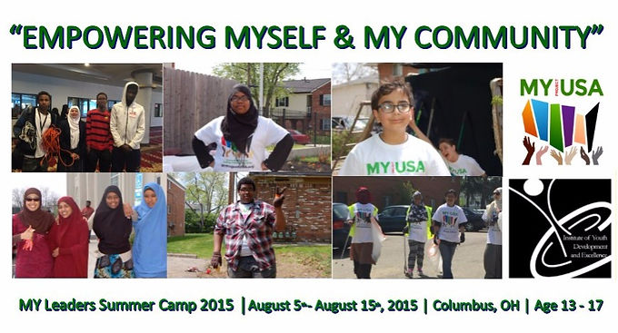 MY Leaders Youth Camp (Age 13 - 17)