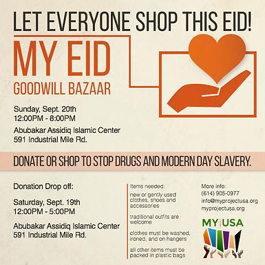 MY Eid Goodwill Bazaar