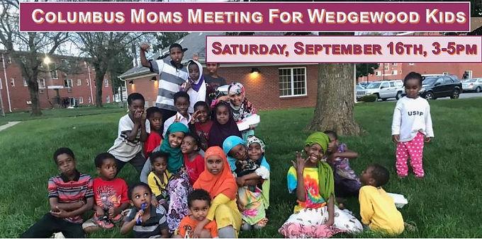 Columbus Moms Meeting for Wedgewood Kids