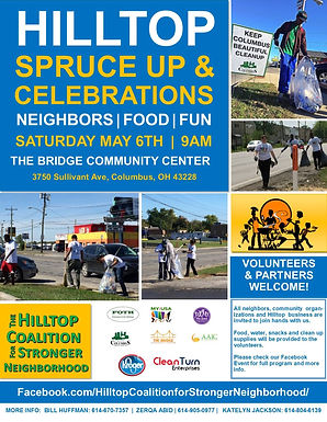Hilltop Spruce Up & Celebrations