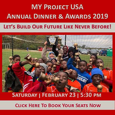 MY Project USA Annual Dinner & Awards 2019