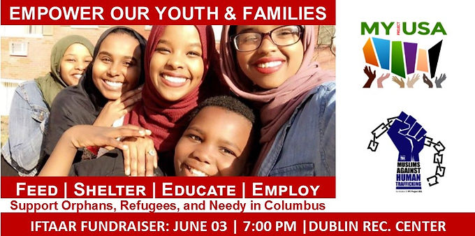 Iftaar Dinner to Support Orphans, Refugees & Needy in Columbus