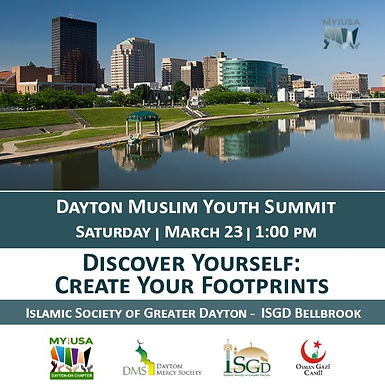 Dayton Muslim Youth Summit - Discover Yourself: Create Your Footprints