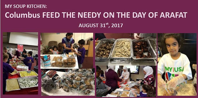 Feed the Needy on the Day of Arafat