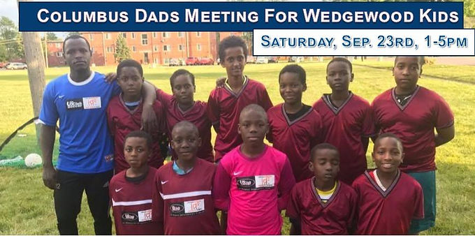 Columbus Dads Meeting for Wedgewood Kids
