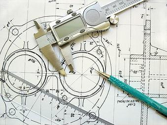 Manual design tools, paper, pencil