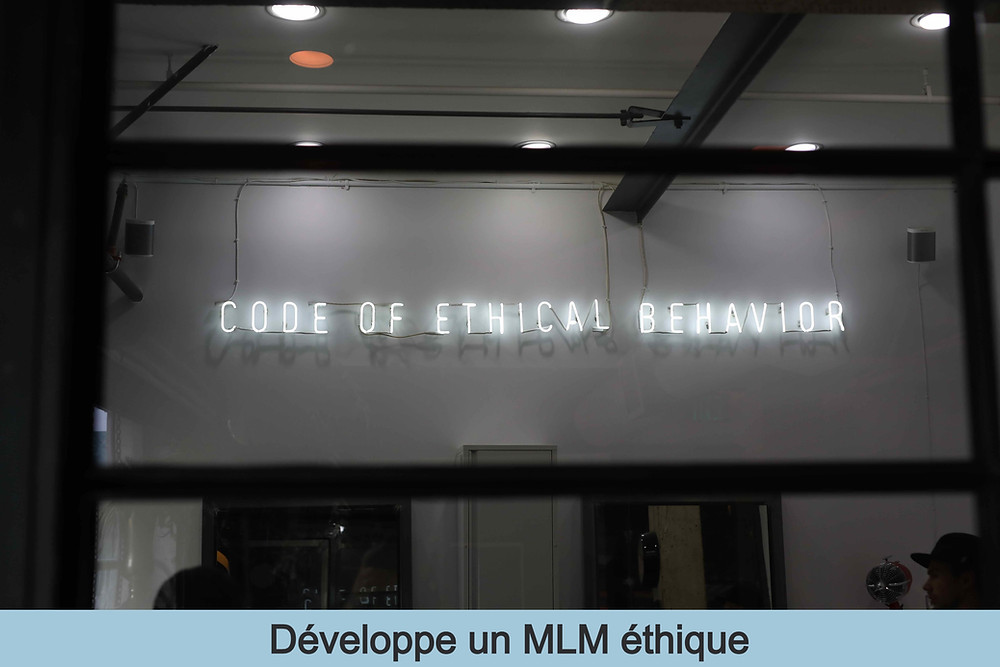 Code of ethical behavior