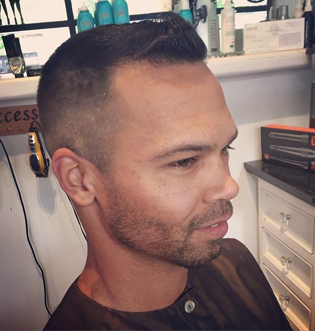 Classic men's cut by Marcus #sandiegohairsalon #gaslamp #salondemarcus #distinguishedgentleman #gqst
